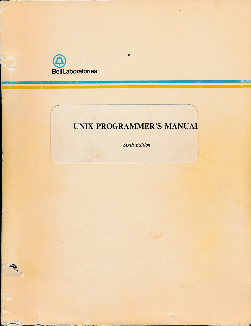 Unix-progr-manual