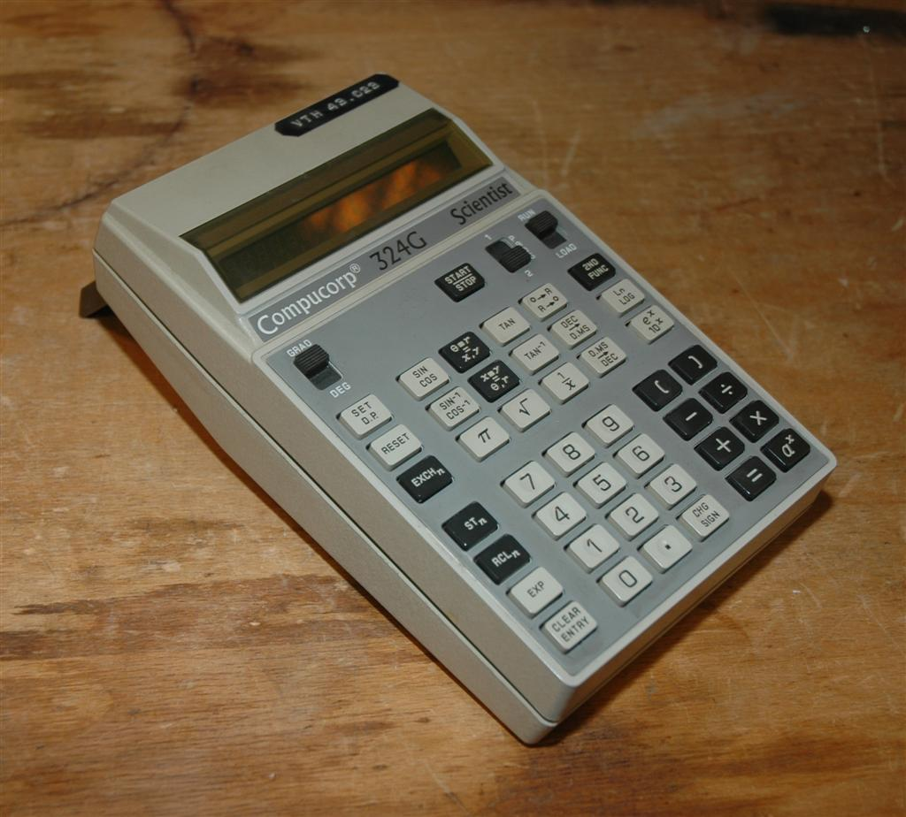 Compucorp 324G calculator