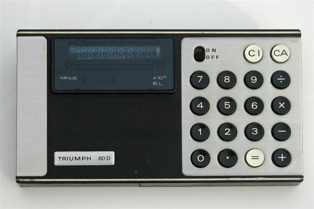 Triumph 80D calculator