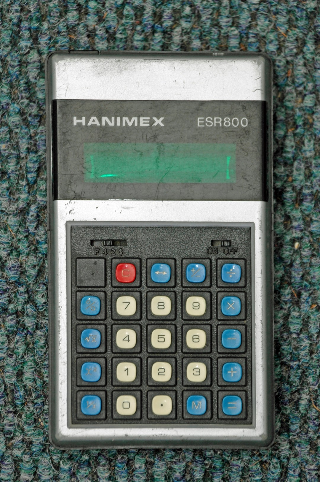 Hanimag ESR 800 calculator