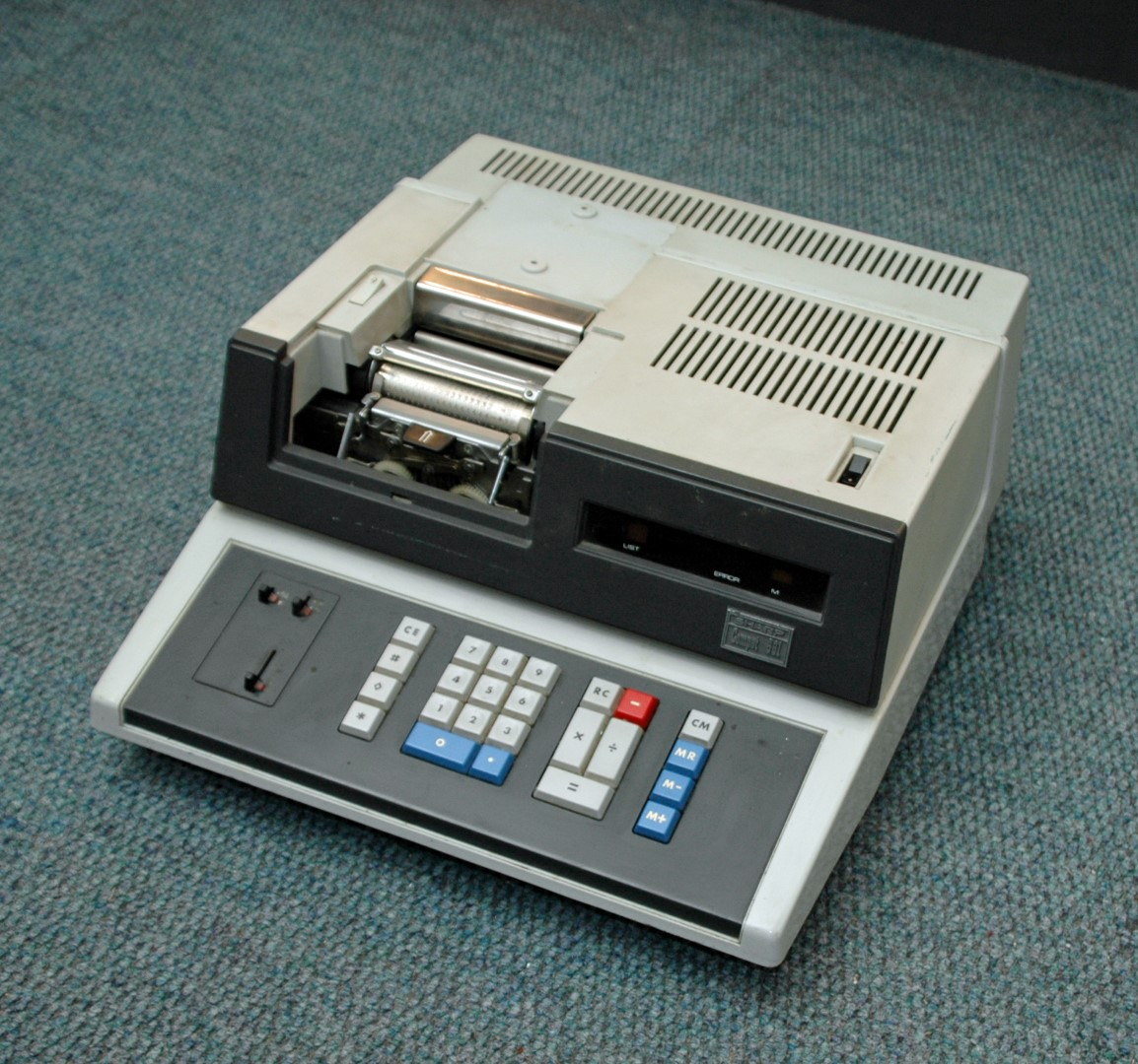 Sharp Compet 661 printing calculator